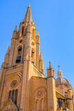 Ghajnsielem Church Tower Stock Photo