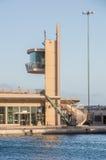 Ghajnsielem Malta, Maj, - 8, 2017: Gozo promu Terminal przy portem Mgarr obrazy royalty free