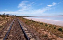 Ghan铁路 库存图片