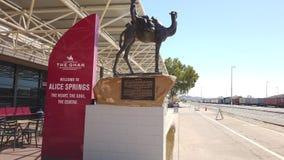 The Ghan Alice Springs station