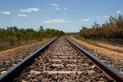The Ghan near Darwin Royalty Free Stock Photos