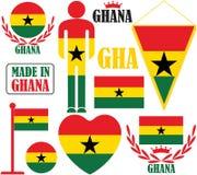 ghana Photographie stock libre de droits