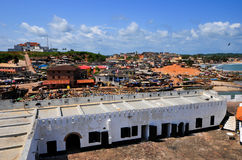 Ghana: Elmina Castle World Heritage Site, History of Slavery Stock Photos