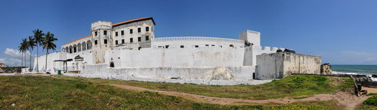 Ghana: Elmina Castle World Heritage Site, History of Slavery Royalty Free Stock Photos