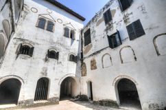 Ghana: Elmina Castle World Heritage Site, History of Slavery Royalty Free Stock Photo