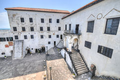 Ghana: Elmina Castle World Heritage Site, History of Slavery Royalty Free Stock Image