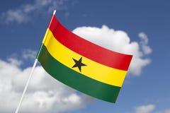 Ghana flag Stock Photography
