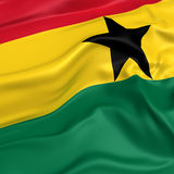 Ghana  flag picture Royalty Free Stock Image