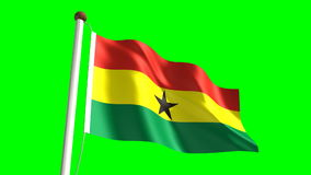 Ghana flag Stock Photos