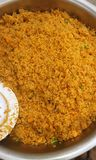 Ghana jollof ryż Fotografia Royalty Free