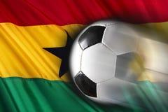 Ghana Soccer Stock Image