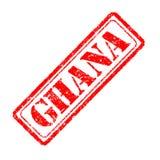 Ghana-Stempel Lizenzfreie Stockfotografie