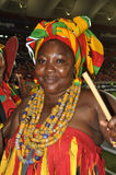 Ghana supporter lady Stock Photos
