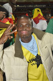 Ghana supporters Stock Photo