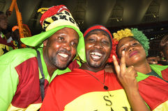 Ghana supporters Royalty Free Stock Image