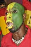 Ghana supportrar Arkivbilder