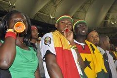 Ghana zwolennicy obrazy royalty free