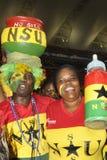 Ghana zwolennicy Zdjęcia Royalty Free
