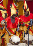 Ghanaian Drummers from Nkrabea Dance Ensemble. Stock Image