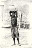 A Ghanaian girl poses Royalty Free Stock Photos