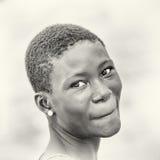 Ghanaian girl smiles for the camera Stock Photos