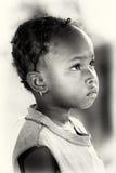 Ghanaian little girl poses Stock Image