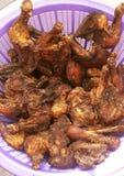 Ghanaisches gebratenes Huhn lizenzfreie stockfotos