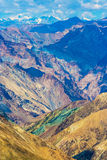Ghanda La, Markha Valley trek, Ladakh, Northern India Royalty Free Stock Images