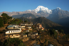 Ghandruk Stock Photo