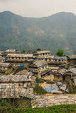 Ghandruk, Nepal fotografia de stock