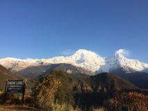 Ghandruk trek stock photos