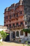 Ghanerao皇家城堡,拉贾斯坦,印度 免版税库存图片