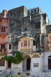 Ghanerao皇家城堡,拉贾斯坦,印度 免版税图库摄影