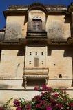 Ghanerao皇家城堡,拉贾斯坦,印度 免版税库存照片