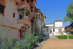 Ghanerao Royal Hotel 2. A former maharajah's palace which is now a hotel near Kumbhalgarh Stock Image