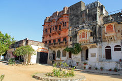 Ghanerao Royal Hotel. A former maharajah's palace which is now a hotel near Kumbhalgarh Royalty Free Stock Photography