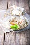 Ghanoush Бабы, погружение баклажана, среднеземноморская еда Стоковые Фотографии RF