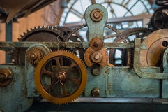 Ghanta Ghar clock mechanism Stock Images