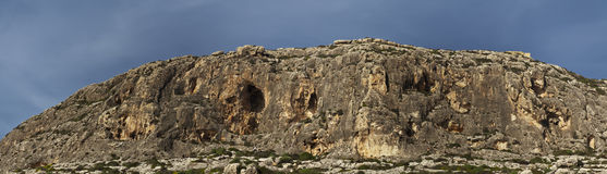 Ghar Lapsi Cliffs Stock Photography