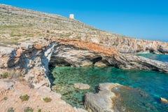 Ghar Lapsi, Malta Royalty Free Stock Photography