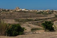 Gharb village on the Gozo island, Malta. Gharb village on the Gozo island. Malta Stock Photos