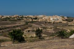 Gharb village on the Gozo island, Malta. Gharb village on the Gozo island. Malta Royalty Free Stock Photo
