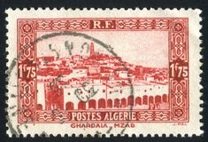 Ghardaia Royaltyfri Fotografi