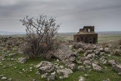 Gharghavank Iglesia de Zoravor Imagen de archivo