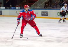 Gharkov Vladimir (25) in action Royalty Free Stock Photo