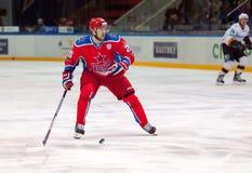 Gharkov Vladimir (25) in der Aktion Lizenzfreies Stockfoto