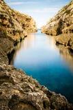 Ghasri Valley. Is an inlet that runs inland Stock Photos