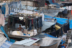 Ghat dhobi Мумбая Стоковое Изображение