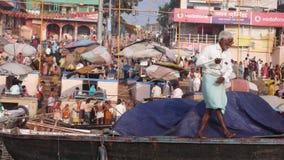 Ghat. Varanasi. India Stock Photography