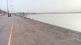 Ghat in Varanasi. Stock Images